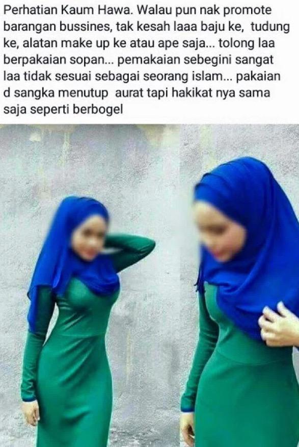 Awas Muslimah, Hindari Jubah Telanjang Ini