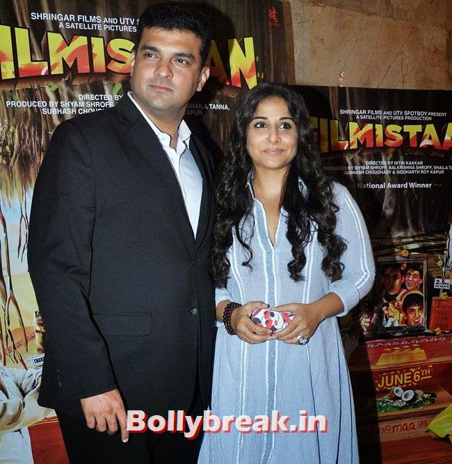 Siddharth Roy Kapur and Vidya Balan, Vidya Balan, Tabu at Special Screening of movie 'Filmistaan'