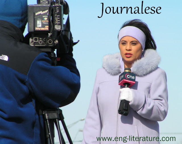What is Journalese? What is it's function to English Language?