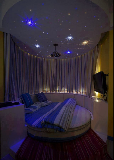 Beautiful ideas for lighting a room sleeping