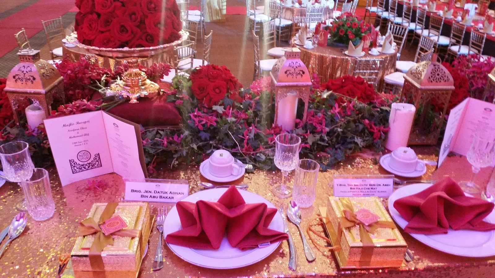 Exclusive Wedding Gifts - Setia City Convention Centre   Of Cotton ...
