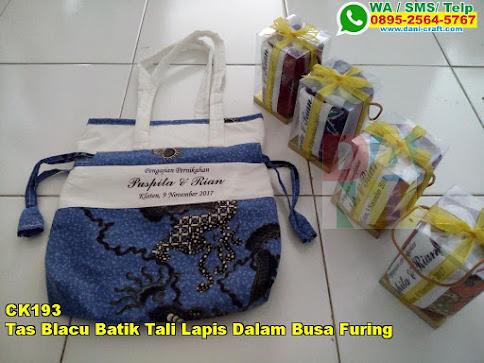Toko Tas Blacu Batik Tali Lapis Dalam Busa Furing