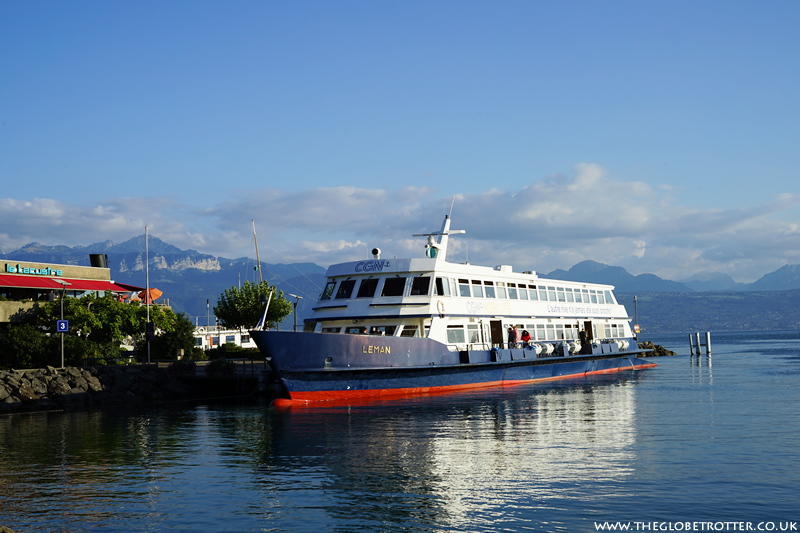 Sunset Cruise on Lake Geneva