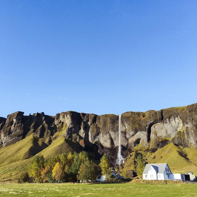 Islandia, wodospad