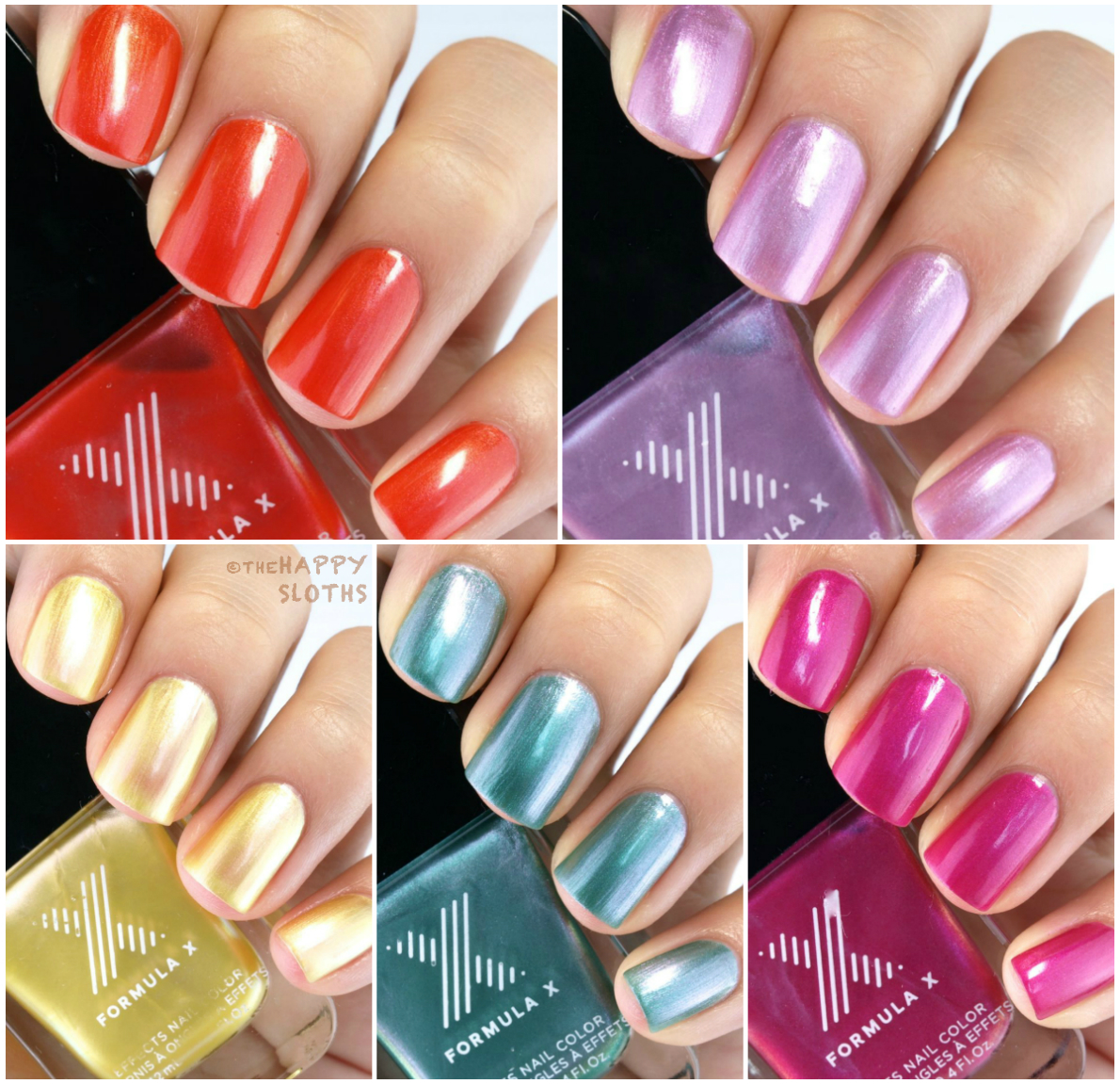 Formula X The Technicolor Silks Collection: Review and Swatches