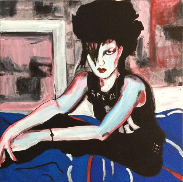 Британский художник. Helen Dryden
