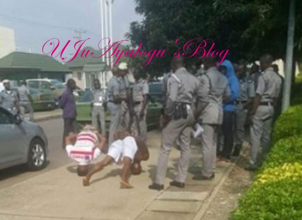 See What Custom Officials Did to Two Men for Impersonating Officers (Photo)