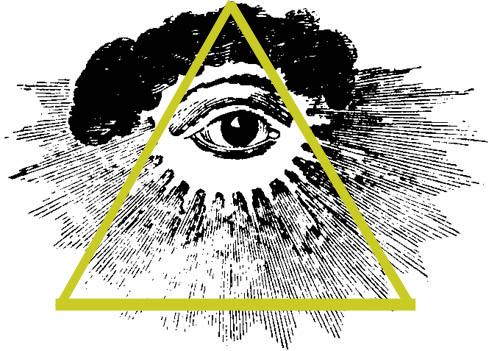 Αποτέλεσμα εικόνας για Παντεπόπτης οφθαλμός
