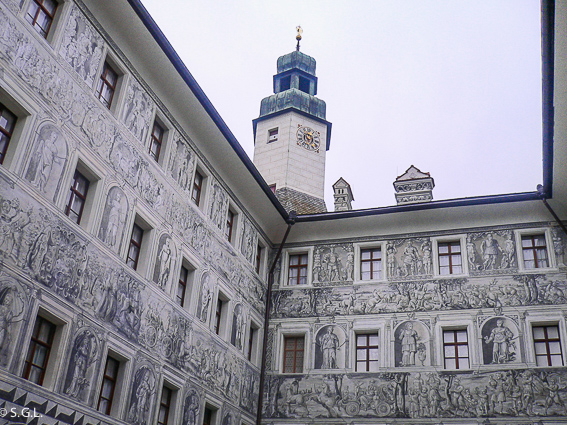 Castillo de Ambras en Innsbruck, capital del Tirol