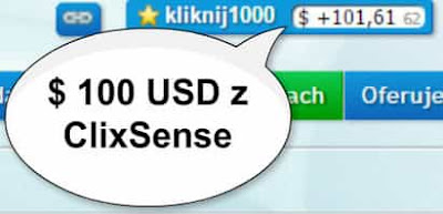 Zarobienie 100 $ w ClixSesne jest możliwe? Jak najbardziej tak!