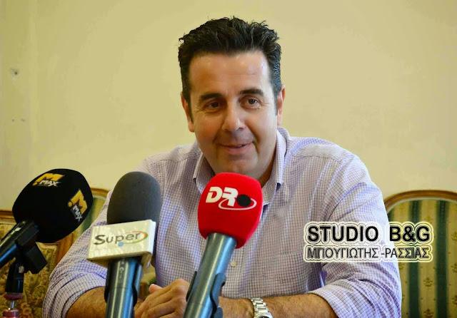 Δ. Κωστούρος: Καλπάζει τουριστικά το Ναύπλιο (ηχητικό)