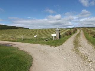Útelágazódás az Isle of Arran-on