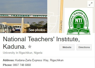 National Teachers Institute (NTI) Programmes | Degree, Diploma, Postgraduate in Education
