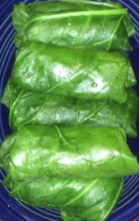 Jersey City Vegetarian: Collard Green Blunts