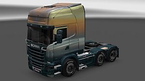 Angely Neba skin for Scania Streamline