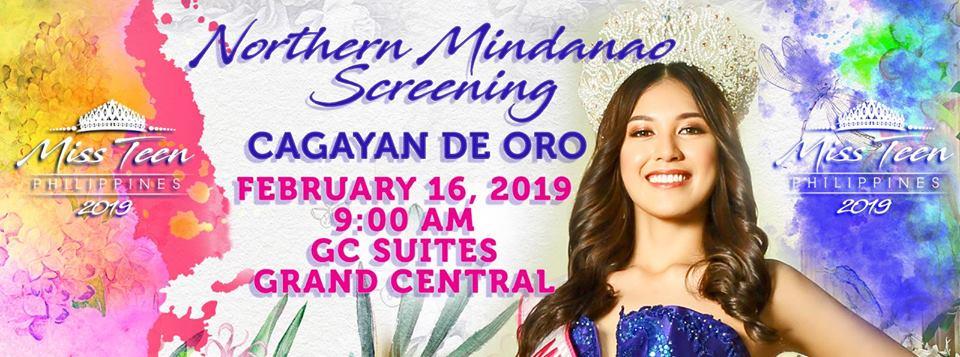 Miss Teen Philippines Northern Mindanao 2019 Final Screening