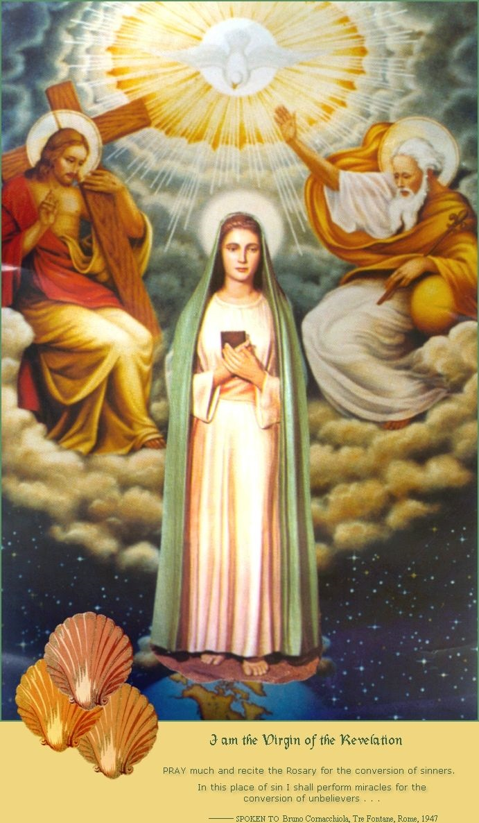 THE VIRGIN OF THE REVELATION