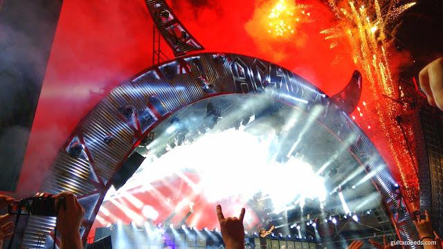 AC/DC Feuerwerk Spielberg