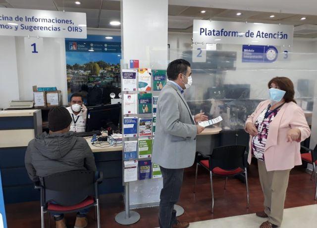 7 sucursales de IPS y ChileAtiende se suman a atención de usuarios en Los Lagos