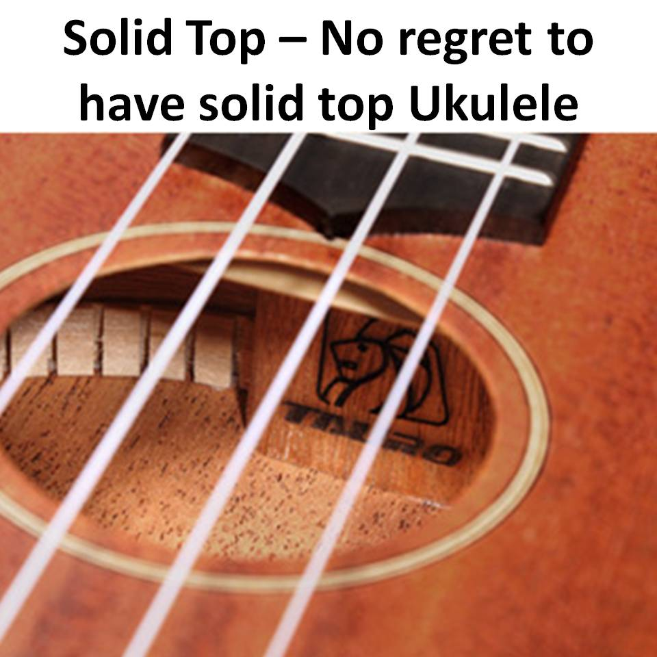 Ukulele Tauro TR52 [Ukulele Review By Mato Music] solid Top