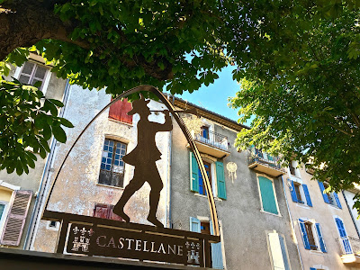 Castellane town sign