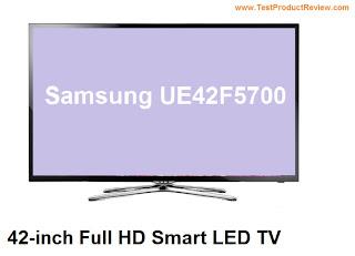 Samsung UE42F5700 review