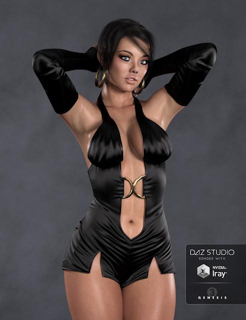 DT- Viona for Genesis 3 Female