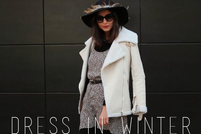 ALL THAT SHE WANTS blog de moda: Vestido en invierno