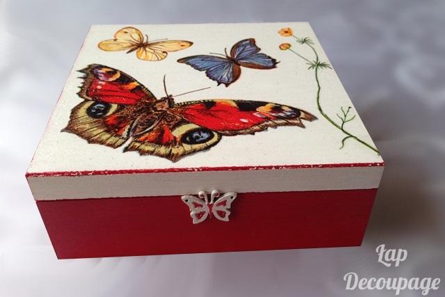 Motyle w czerwieni