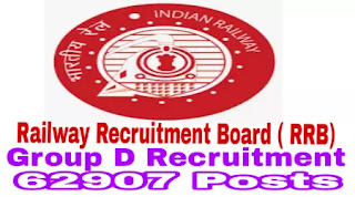 RRB Group D Recruitment 2018