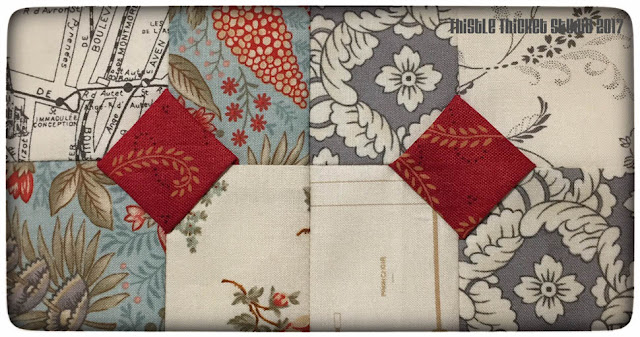 Thistle Thicket Studio, 3-d bow tie block, bow tie block, row quilt