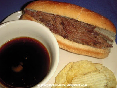 Margaret's Morsels | Crock-Pot French Dip Sandwiches