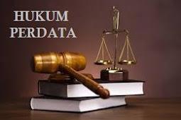 Contoh Makalah Hukum Perdata - Hukum Perdata Lengkap dengan Referensinya