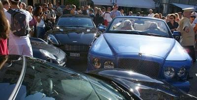 Bentley Accident in Monaco