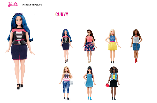 Curvy barbie