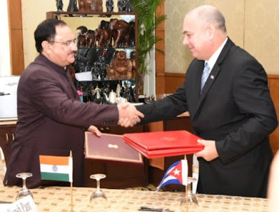 Spotlight : India And Cuba Sign MoU For Enhanced Cooperation In The Health Sector