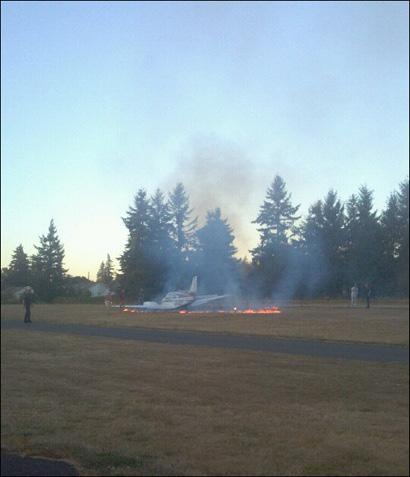 Kathryn's Report: Beech 95-55, N4QC: Accident occurred September 03