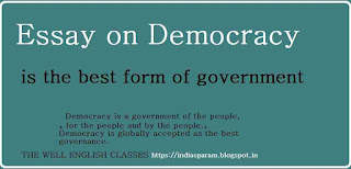 essay on democracy is the best form of government the well  essay on democracy is the best form of government