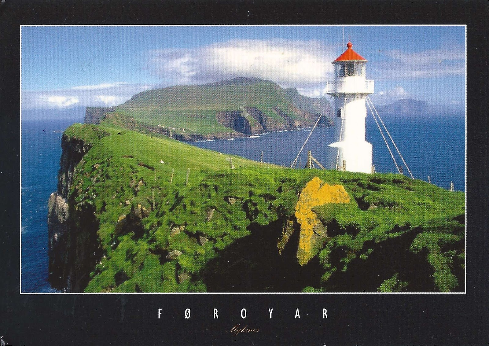 A Journey of Postcards: Mikynes Lighthouse | Faroe Islands