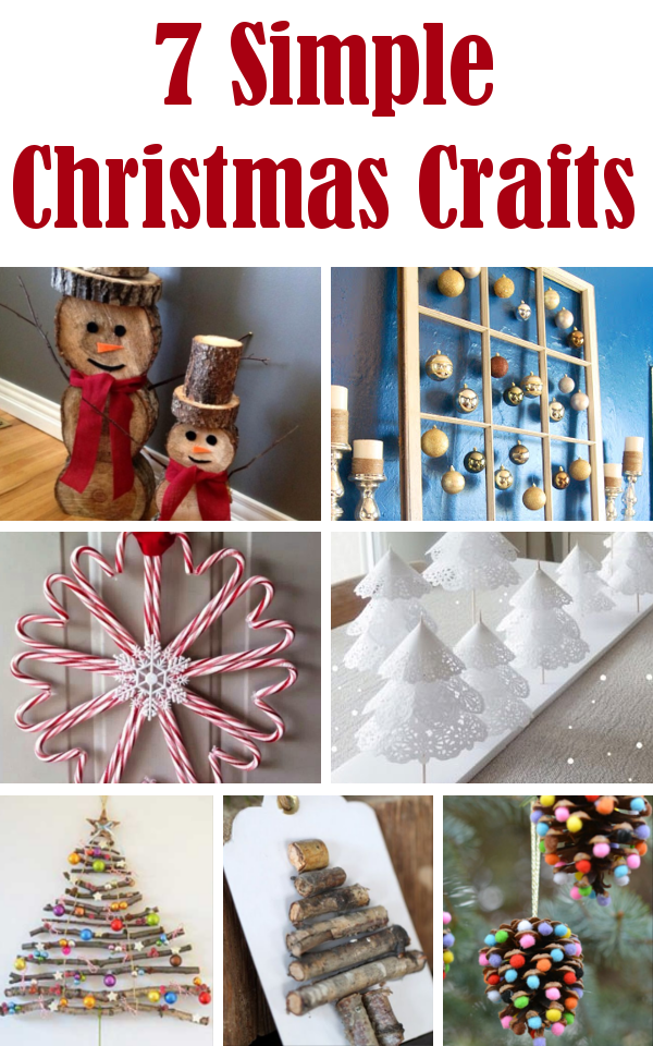 Simple Christmas Craft Ideas Diy Home Sweet Home