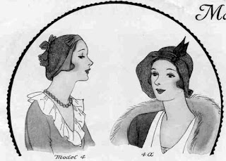 The Vintage Pattern Files: Free 1930's Sewing Patterns - Draped Hats