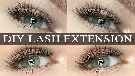 ShinyLipsTv: DIY Lash Extensions - DOES IT REALLY WORK? (Ardell Starter Kit)