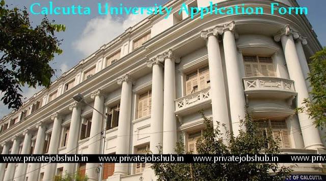 Calcutta University Application Form