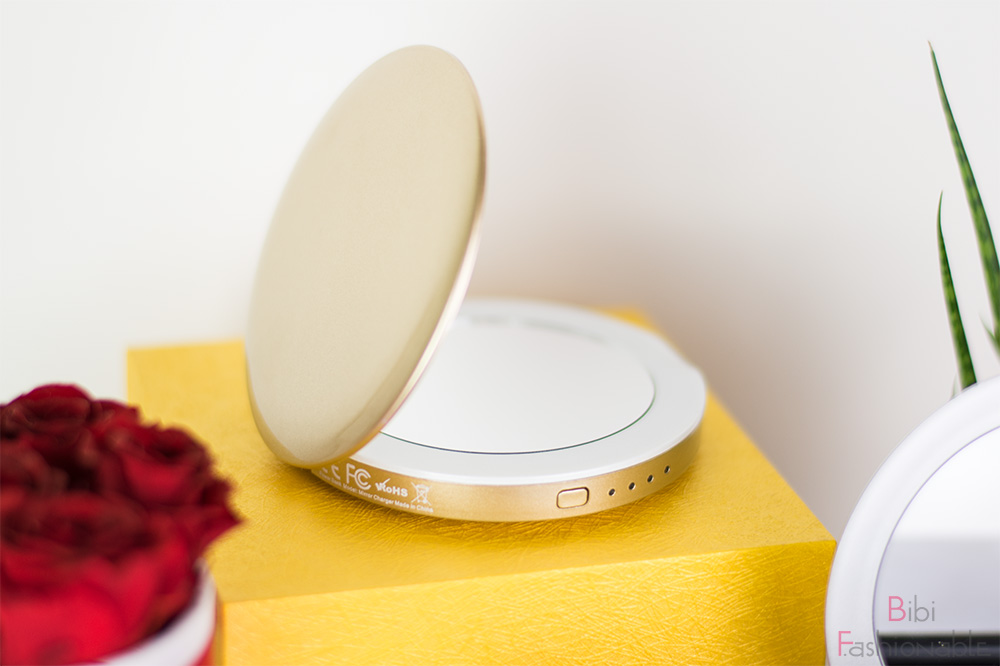 iLogoTech Mirror Powerbank gold