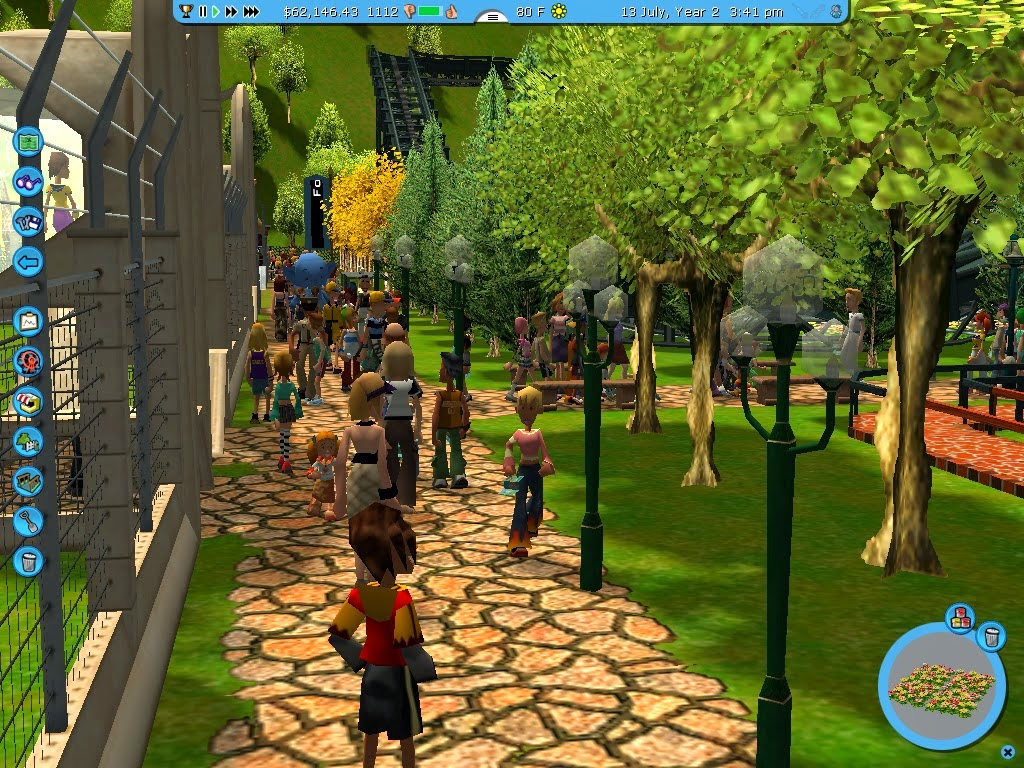 Roller Coaster Tycoon Touch First Look – Desenhos Para Colorir