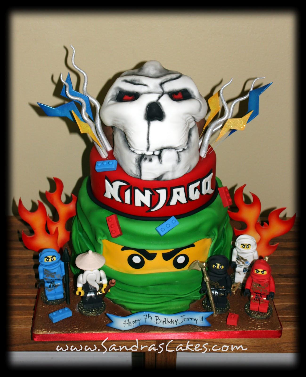 A Lego Ninjago Birthday Party: Ninjago Birthday Cake