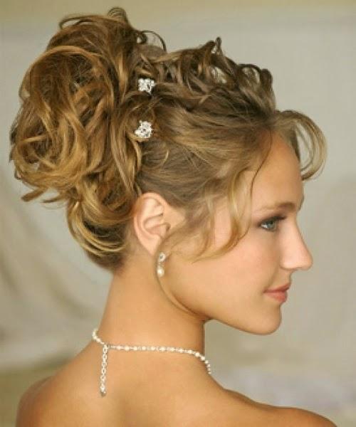 Peinados de boda sin velo