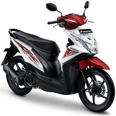 Honda BeAT eSP Putih Merah