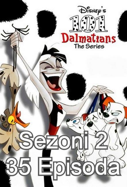 Seriali-101 Dalmatet Sezoni 2 me 35 Episoda Dubluar ne shqip