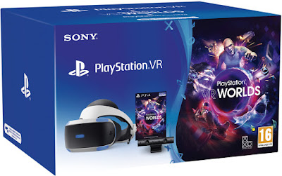Playstation VR V2 + Cámara + VR Worlds